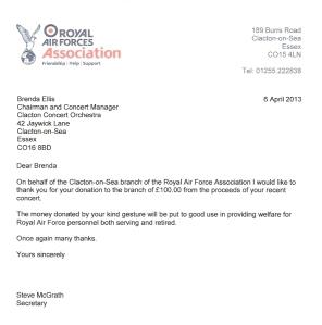 RAF_Clacton_letter