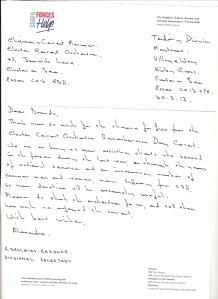 SSAFA_Clacton_letter